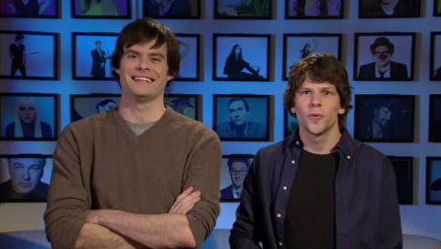 Jesse Eisenberg Hosting SNL + Nicki Minaj – VIDEO