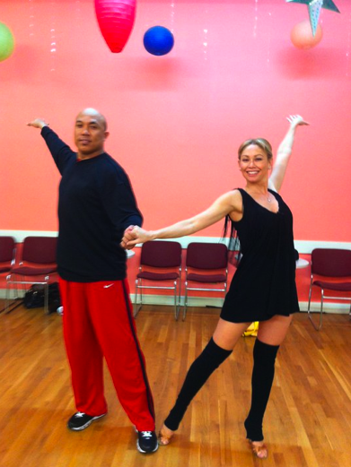 Hines Ward and Kym Johnson - Dancing With The Stars