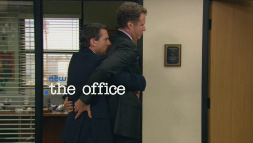 The Office - Steve Carell and Will Ferrell