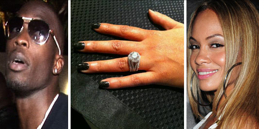 Chad Ochocinco is Engaged to Evelyn Lozada – Photos