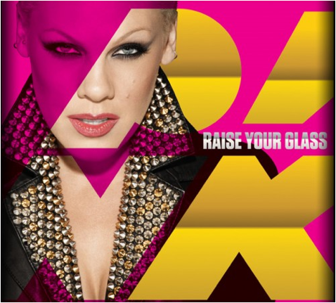 Pink - Raise Your Glass -Cover Art