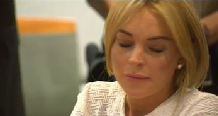 Lindsay Lohan Court Photos Feb 9 2011