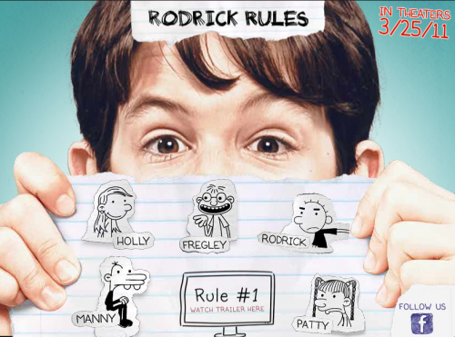 &#8216;Diary of a Wimpy Kid 2: Rodrick Rules&#8217; OFFICIAL TRAILER HD