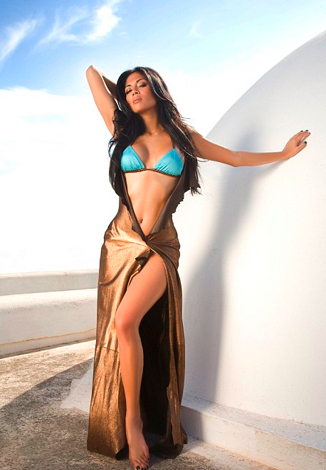 Nicole Scherzinger Smolders For Her Latest Album Shoot