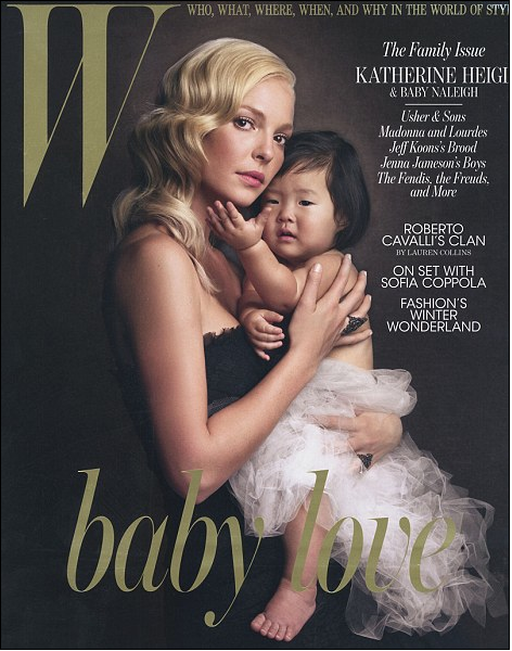 Katherine Heigl and Naleigh W 2010 Cover