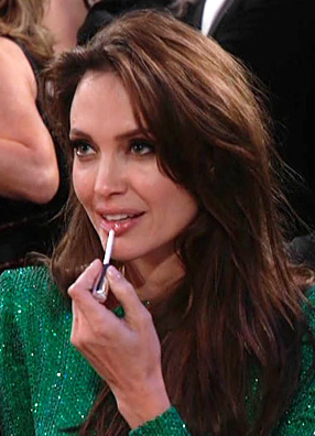 Would You Like The Same Gloss Angelina Jolie Uses?