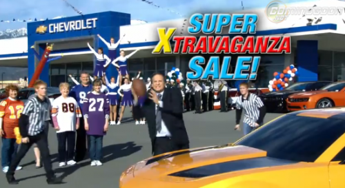 The Chevy's 'Transformers' 2011 Super Bowl Ad – VIDEO