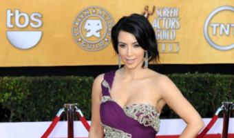 Kim Kardashian at SAGs