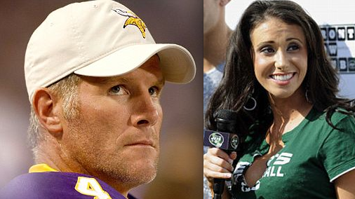 Brett Favre and Jenn Sterger
