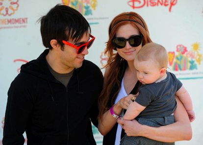 Ashlee Simpson, Pete Wentz, and Bronx Mowgli