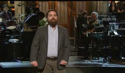 SNL: Zach Galifiankis Opening Monologue Is A Total Crackup (Video)