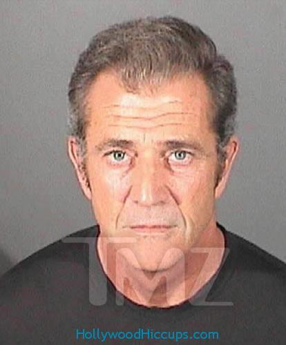 Mel Gibson 2011 Mugshot