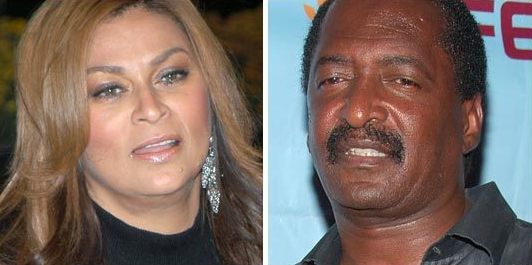 Tina and Matthew Knowles