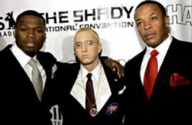 Eminem 'Syllables' Feat. Jay-Z, Dr. Dre and 50 Cent (NSFW)
