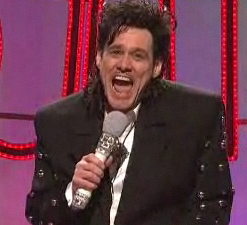 Jim Carrey on SNL - Soul Train (The Worst Of)