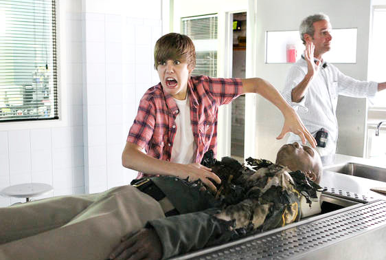 Justin Bieber - CSI Photos