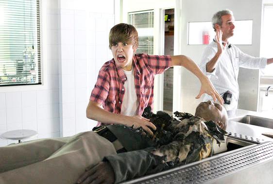Justin Bieber - CSI Photos