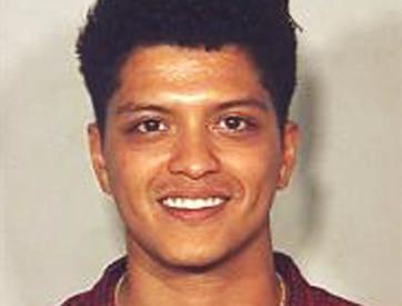 Bruno Mars Mug Shot