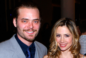 Mira Sorvino's Husband Was Arrested This Morning
