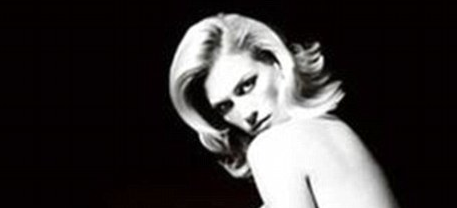 January Jones Nude for Versace