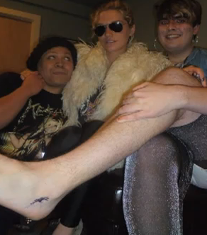 WATCH: Ke$ha Tattoos A Crazy Fan (For Real)