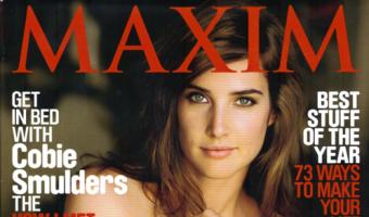 Cobie Smulders SMOLDERS For Maxim December 2010 Photos
