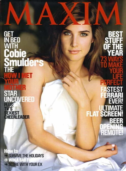 Cobie Smulders - Maxim Photos - How I Met Your Mother