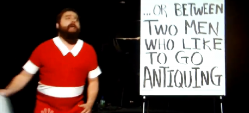 Zach Galifianakis Is Orphan Annie For SNL &#8211; VIDEO