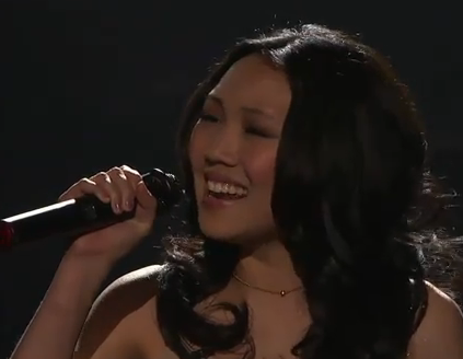 American Idol Top 12 Girls: Thia Megia 'Out There On My Own' Video