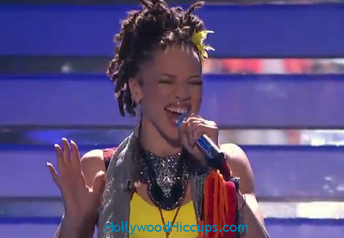 American Idol Top 12: Naima Adedapo BOMBS Tina Turner – Video