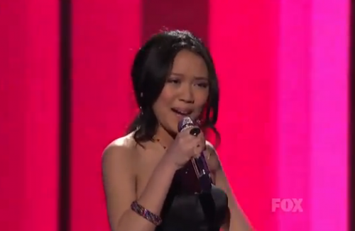 American Idol Top 11: Thia Megia Brings It To Motown – Video