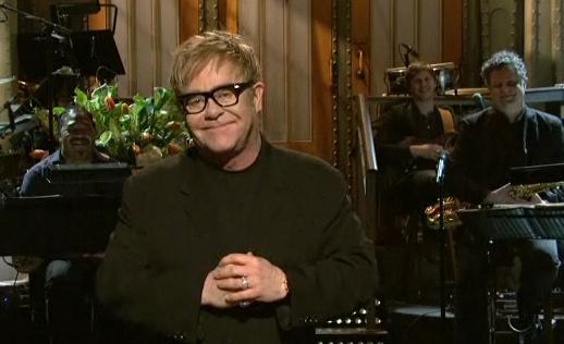 Elton John SNL Monologue
