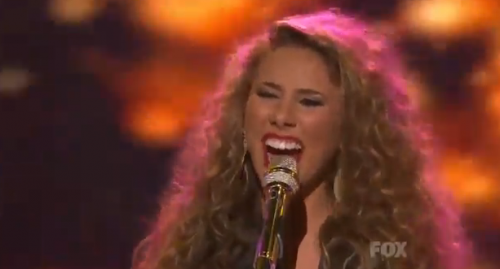 American Idol Top 9: Haley Reinhart BLOWS Us Away &#8211; Video