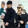 Joel Madden, Nicole Richie, Harlow, and Sparrow