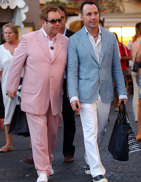 Elton John and David Furnish Are Dads!