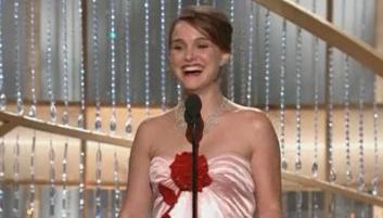 Natalie Portman Golden Globes Acceptance Speech