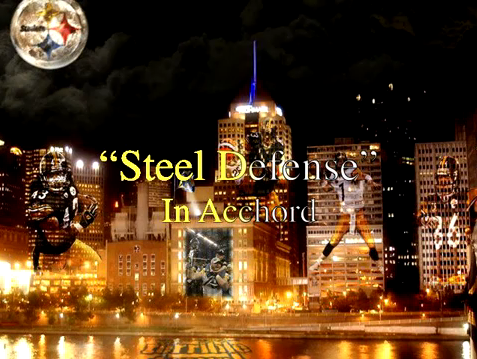 Lady Gaga - Steel Defense - Bad Romance Remix - Pittsburgh Steelers Fans
