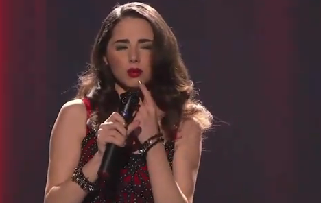 American Idol Top 12 Girls: Rachel Zevita Goes Broadway &#8211; Video