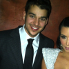 Kim Kardashian Wears Boobie Dress With Rob Kardashian on NYE