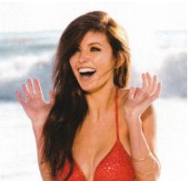 Audrina Patridge Lands on FHM Calender and Cover – Photos