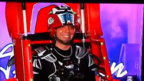 Transformers Guy Drew Beaumier FAILS on American Idol – VIDEO