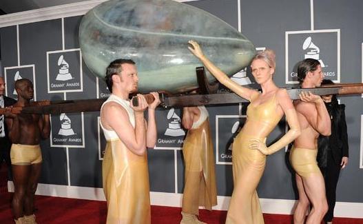 Lady Gaga 2011 Grammys