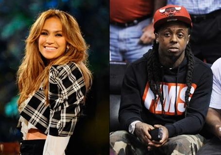 Jennifer Lopez and Lil Wayne