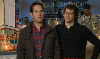 Paul Rudd SNL with Andy Samberg