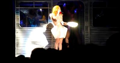 Lady Gaga Kills Santa