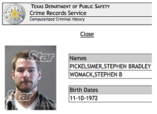 'The Bachelor' Brad Womack Has A Criminal Record (MUGSHOT)