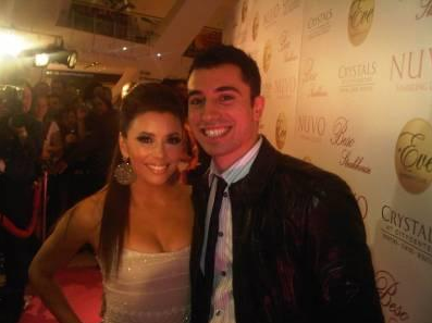 Eva Longoria and Tino Coury