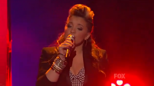 American Idol Top 9: Lauren Alaina is a Natural Woman – Video
