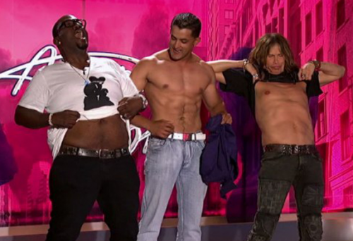 Jovany Barreto American Idol Audition Gets The Boys Shirtless (Randy & Steven Too!)