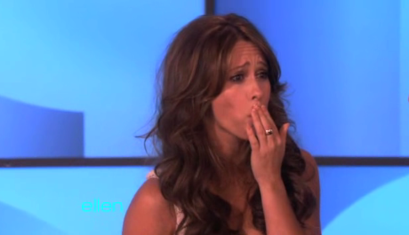Jennifer Love Hewitt Pushes The Ring Factor on Ellen
